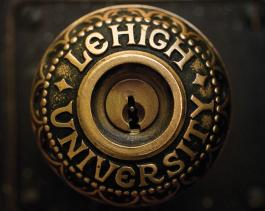 Lehigh University door knob