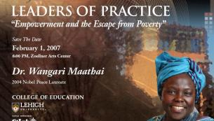 Dr. Wangari Maathai, Empowerment and Escape From Poverty