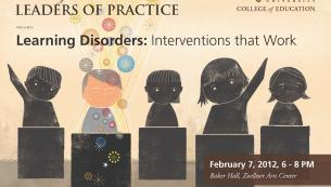 Learning Disorders: Interventions that Work