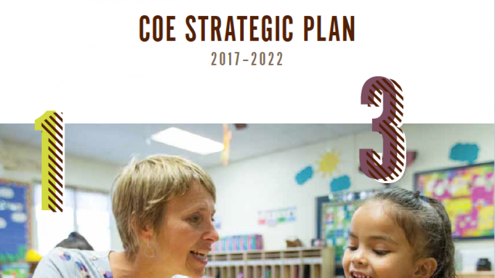 Lehigh University College of Education Strategic Plan 2017-2022