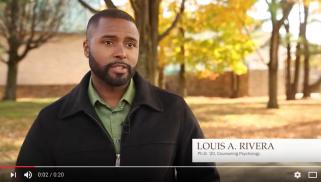 Louis Rivera, Counseling Psychology, Ph.D. '20