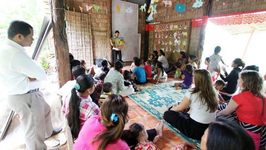 Siem Reap, Cambodia classroom