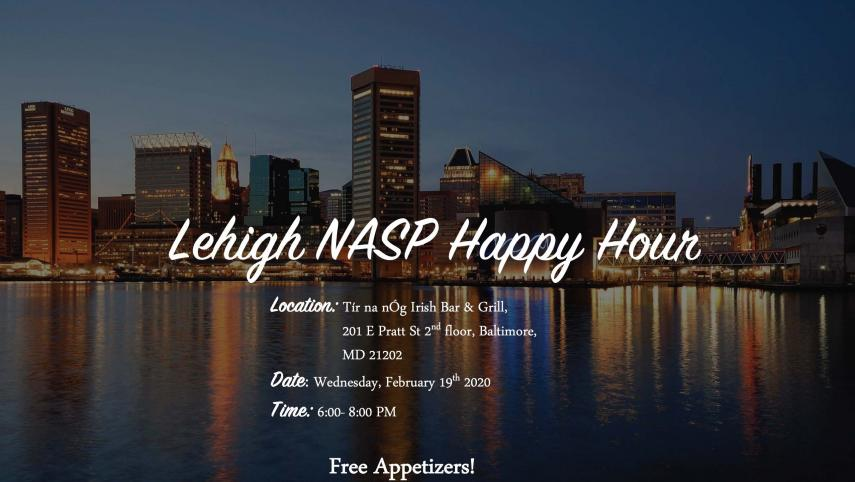 NASP Happy Hour - Lehigh School Psychology